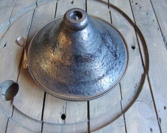 Tajine in bronze stoneware dish