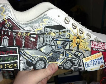 Custom hand painted shoes- your provide shoes