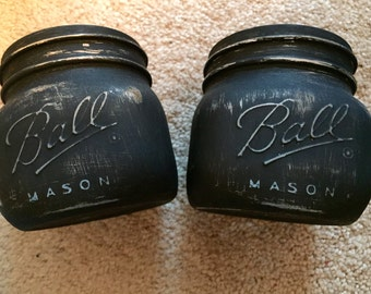 Votive sized Shabby Chic Mason Jars