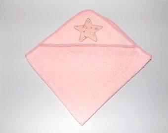 Bath Cape pink