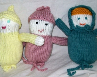 Hand Knit Baby Dolls
