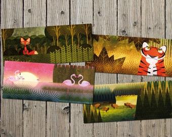 Narava postcards collection 1