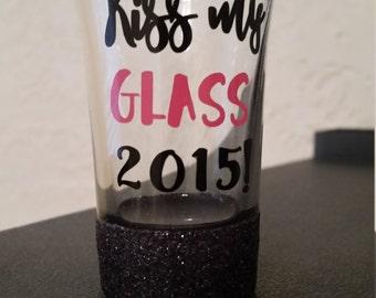 Kiss My Glass 2015 Shotglass