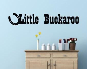 Little Buckaroo Home Wall Decal Sticker VC0087