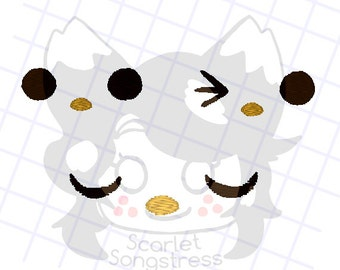 GoroGoro Embroidery Pack .PES Cute Birb Bird Face Extension