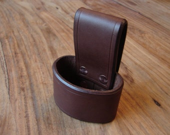 Leather axe holster belt loop