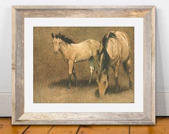 Horse Painting | Texas Art Prints