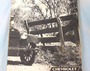 1970's - CHEVY … The Complete Chevrolet Book - Vintage Soft Cover Book by the PETERSEN PUBLISHING Co.