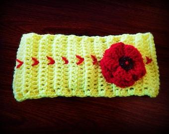 Crochet Softball Headband