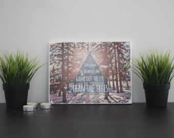 Image Transfer Photography - Taller Than The Trees
