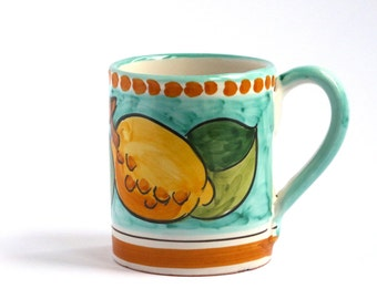 Coffee mug Positano design : Lovely Sorrento