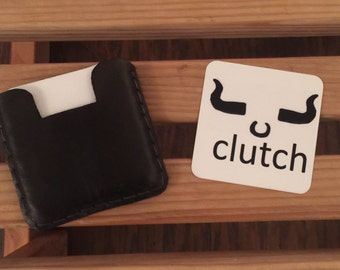 2.5 x 2.5 square business card holder