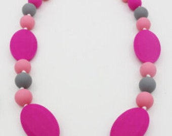 Silicone teething, Girl Silicone teething,  Boy Chew Beads BPA free, Unique Baby Shower Gift.