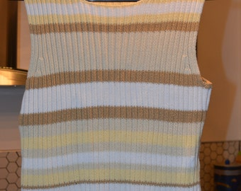 Rockmans Striped Tank Top