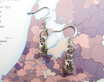 Dutch tulip flower earrings - Made in Holland Collection - souvenir the Netherlands