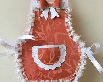 Gift bag apron