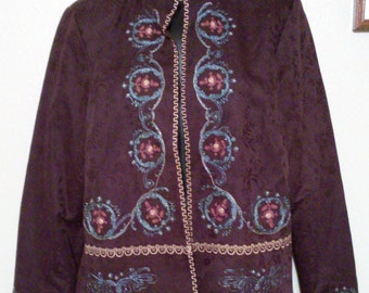 Womens Jacket Size Medium by ColdWater Creek  Vintage  Excellent Shape(FREE SHIPPING)