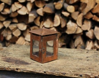 Handmade copper Lantern