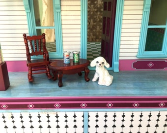 Teeniest Little Miniature Pepsi and 7 Up Cans for Your Doll House or Doll