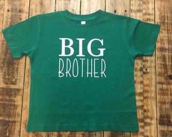 Big Brother Shirt, Proud Big Brother, Sibling Shirt