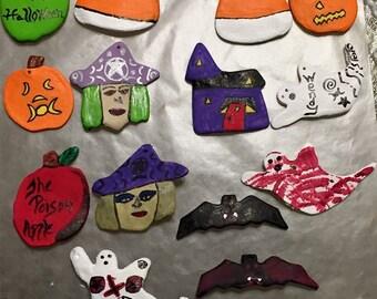Homemade Halloween Ornaments
