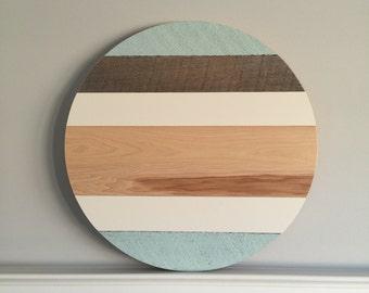 22-inch wood round