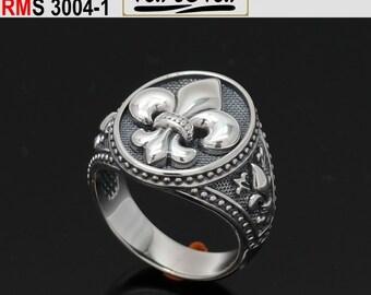 Ring fleur de lis byzantine style (RMS 3004-1)