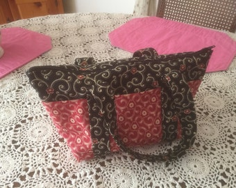 Six Pocket Zipper Purse