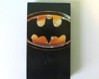 Batman 1989 VHS Tape - Tim Burton - Michael Keaton - Jack Nicholson