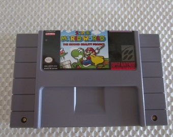 Super Mario World The Second Reality Project - Super Nintendo - English