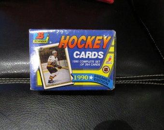 1990 Bowman Complete Hockey Card Set Sealed