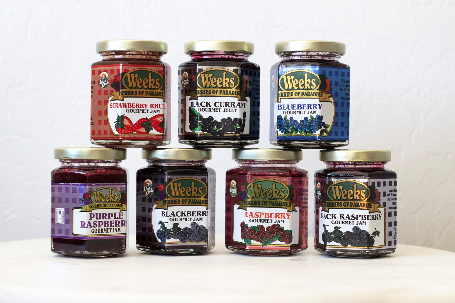 All Natural, Organic, Gourmet, Black Currant Jelly - Utah's Own, Preserves, Jelly, Marmalade