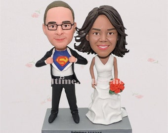 Wedding cake toppers bride and groom anniversary