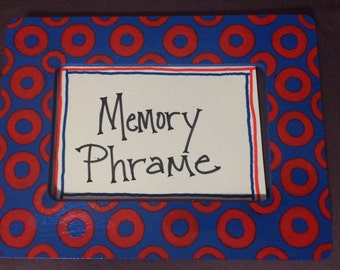 phish photo memory frame