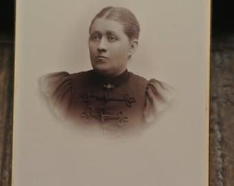 Antique Swedish cabinet photograph