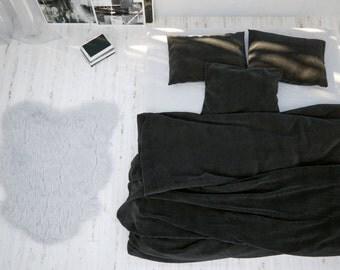 Super King Linen Duvet Cover, 100% Linen Duvet Cover