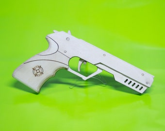 Blade Single shot rubber band Target pistol ******This is a kit******