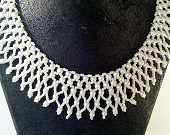 Beaded Necklace, Gifts For Her, Handmade,