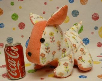 Dug the Dog; Handmade, Customizable Stuffed Animal Dog