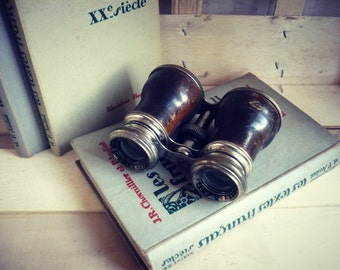 "old pair of binoculars ""The JOCKEY-CLUB paris"""