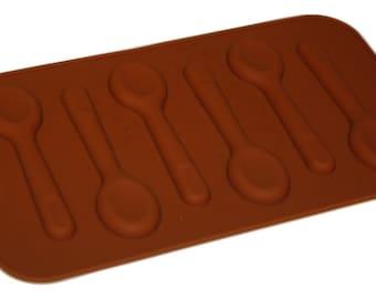 TAAVI Spoon Silicone Mold (Candy, Finger Jello) (T003)
