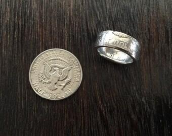 JFK Coin Ring
