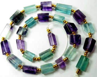 1 Strand High Quality  Flourite Beads From Afghanistan 16.5 Inch Long