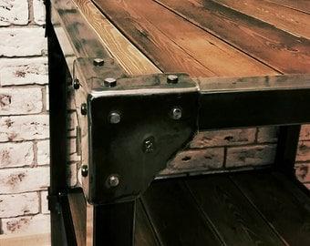 Coffee table in loft