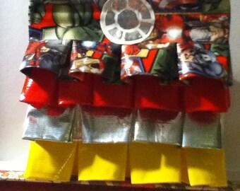 Iron man: Duck tape coin purse