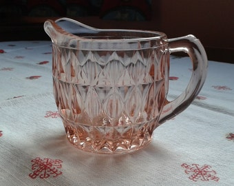 Vintage Jeanette Glass creamer