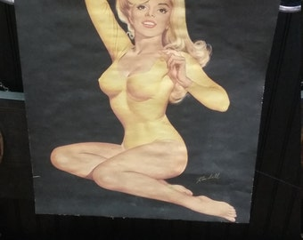 19 50s pin up poster
