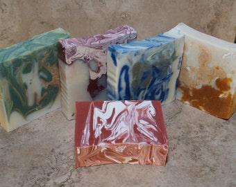 Handmade soap cold process