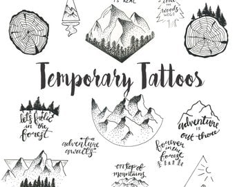 Temporary Tattoos - BOTH SETS