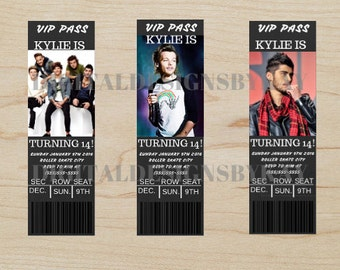 One Direction Birthday Party, One Direction Birthday Party Invitation, One Direction Birthday, One Direction Party, One Direction Invitation